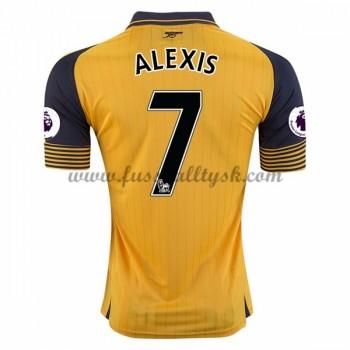 Premier League Fussball Trikots Arsenal 2016-17 Alexis 17 Auswärtstrikot Kurzarm