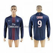 Ligue 1 Fussball Trikots Paris Saint Germain Psg 2016-17 Cavani 9 Heimtrikot Langarm..