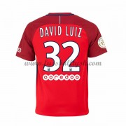 Ligue 1 Fussball Trikots Paris Saint Germain Psg 2016-17 David Luiz 32 Auswärtstrikot Kurzarm..