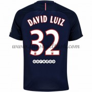 Ligue 1 Fussball Trikots Paris Saint Germain Psg 2016-17 David Luiz 32 Heimtrikot Kurzarm..