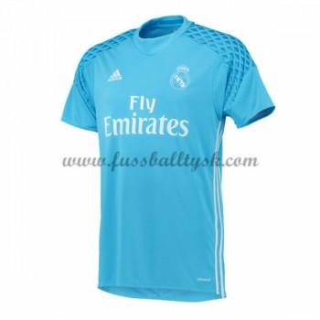 La Liga Fussball Trikots Real Madrid 2016-17 Torwart Heimtrikot Kurzarm