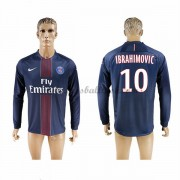 Ligue 1 Fussball Trikots Paris Saint Germain Psg 2016-17 Ibrahimovic 10 Heimtrikot Langarm..