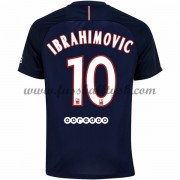 Ligue 1 Fussball Trikots Paris Saint Germain Psg 2016-17 Ibrahimovic 10 Heimtrikot Kurzarm..