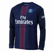 Ligue 1 Fussball Trikots Paris Saint Germain Psg 2016-17 Heimtrikot Langarm..