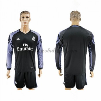 La Liga Fussball Trikots Real Madrid 2016-17 3rd Trikot Langarm