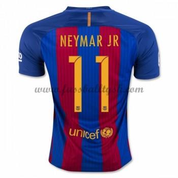 La Liga Fussball Trikots Barcelona 2016-17 Neymar Jr 11 Heimtrikot Kurzarm