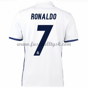 La Liga Fussball Trikots Real Madrid 2016-17 Ronaldo 7 Heimtrikot Kurzarm