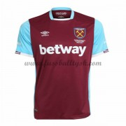 Premier League Fussball Trikots West Ham United 2016-17 Heimtrikot Kurzarm..