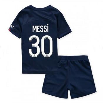Kinder Fussball Trikot Barcelona 2018-19 Lionel Messi 10 Heim Trikotsatz Kurzarm