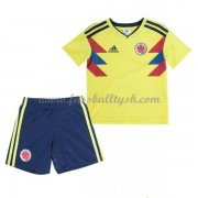 Nationalmannschaft Trikot Kinder Kolumbien WM 2018 Heim Trikotsatz Fussball Kurzarm