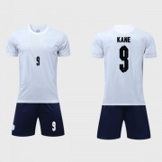 Nationalmannschaft Trikot Kinder England WM 2018 Harry Kane 9 Heim Trikotsatz Fussball Kurzarm..