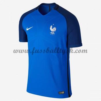 Günstige Fußballtrikots Frankreich Nationalmannschaft 2016 Heimtrikot Kurzarm