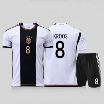 Nationalmannschaft Trikot Kinder Deutschland WM 2018 Toni Kroos 8 Heim Trikotsatz Fussball Kurzarm