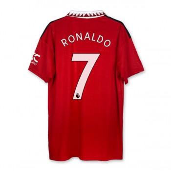 Series A Fussball Trikots Juventus 2018-19 Cristiano Ronaldo 7 Heimtrikot Kurzarm