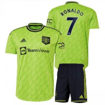 Kinder Fussball Trikot Juventus 2018-19 Cristiano Ronaldo 7 3rd Trikotsatz Kurzarm