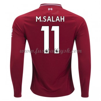 Premier League Fussball Trikots Liverpool 2018-19 Mohamed Salah 11 Heimtrikot Langarm