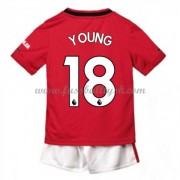 Kinder Fussball Trikot Manchester United 2019-20 Ashley Young 18 Heim Trikotsatz Kurzarm..