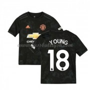 Kinder Fussball Trikot Manchester United 2019-20 Ashley Young 18 Ausweich Trikotsatz Kurzarm..