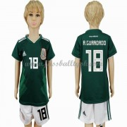 Nationalmannschaft Trikot Kinder Mexiko WM 2018 Andres Guardado 18 Heim Trikotsatz Fussball Kurzarm..