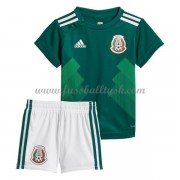 Nationalmannschaft Trikot Kinder Mexiko WM 2018 Heim Trikotsatz Fussball Kurzarm..
