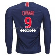 Ligue 1 Fussball Trikots Paris Saint Germain Psg 2018-19 Edinson Cavani 9 Heimtrikot Langarm..
