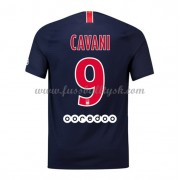 Ligue 1 Fussball Trikots Paris Saint Germain Psg 2018-19 Edinson Cavani 9 Heimtrikot Kurzarm..