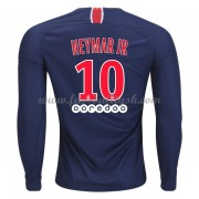 Ligue 1 Fussball Trikots Paris Saint Germain PSG 2018-19 Neymar Jr 10 Heimtrikot Langarm..