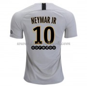 Ligue 1 Fussball Trikots Paris Saint Germain PSG 2018-19 Neymar Jr 10 Auswärtstrikot Kurzarm..
