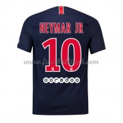 Ligue 1 Fussball Trikots Paris Saint Germain PSG 2018-19 Neymar Jr 10 Heimtrikot Kurzarm..