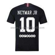 Ligue 1 Fussball Trikots Paris Saint Germain PSG 2018-19 Neymar Jr 10 Ausweichtrikot Kurzarm..