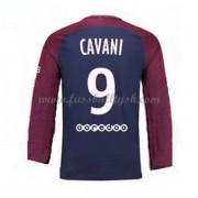 Ligue 1 Fussball Trikots Paris Saint Germain Psg 2017-18 Edinson Cavani 9 Heimtrikot Langarm..