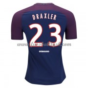 Ligue 1 Fussball Trikots Paris Saint Germain Psg 2017-18 Julian Draxler 23 Heimtrikot Kurzarm..