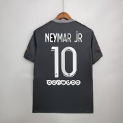 Ligue 1 Fussball Trikots Paris Saint Germain Psg 2017-18 Neymar Jr 10 3rd Trikot Kurzarm..
