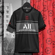 Ligue 1 Fussball Trikots Paris Saint Germain Psg 2017-18 3rd Trikot Kurzarm..