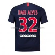 Ligue 1 Fussball Trikots Paris Saint Germain Psg 2018-19 Dani Alves 32 Heimtrikot Kurzarm..