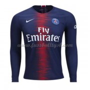 Ligue 1 Fussball Trikots Paris Saint Germain Psg 2018-19 Heimtrikot Langarm..