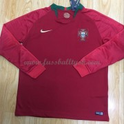 Nationalmannschaft Trikot Kinder Portugal WM 2018 Heim Trikotsatz Fussball langarm..