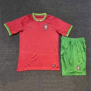 Nationalmannschaft Trikot Kinder Portugal WM 2018 Heim Trikotsatz Fussball Kurzarm