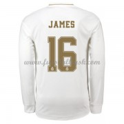Fussball Trikots Real Madrid 2019-20 James Rodriguez 16 Heimtrikot Langarm