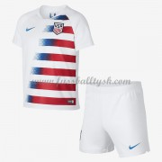 Nationalmannschaft Trikot Kinder USA 2018 Heim Trikotsatz Fussball Kurzarm..