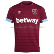 Premier League Fussball Trikots West Ham United 2018-19 Heimtrikot Kurzarm..